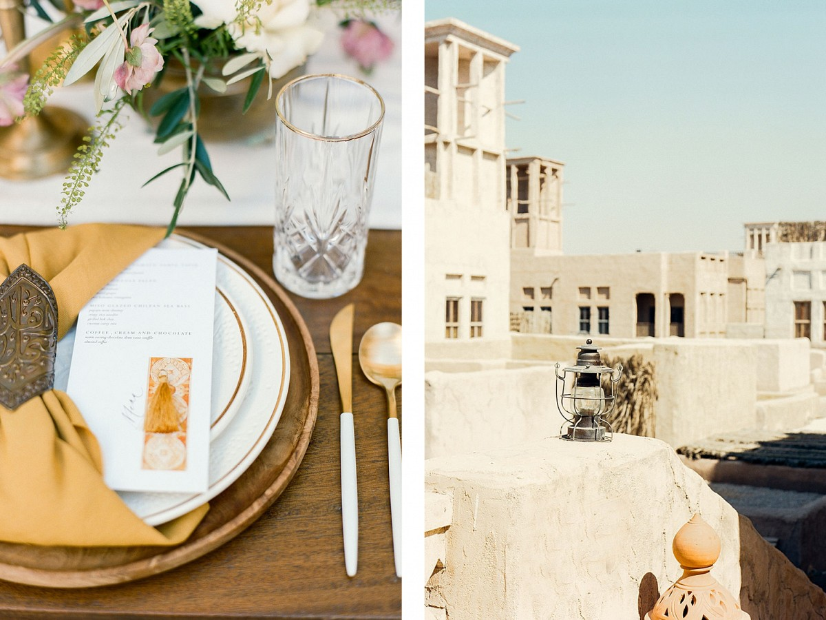 Middle Eastern Architecture Inspired Wedding Ideas