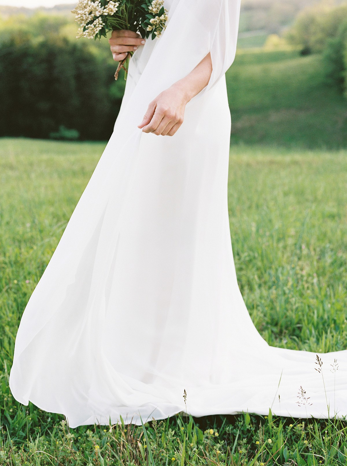 Feminine, Organic Wedding Inspiration at Bloomsbury Farm