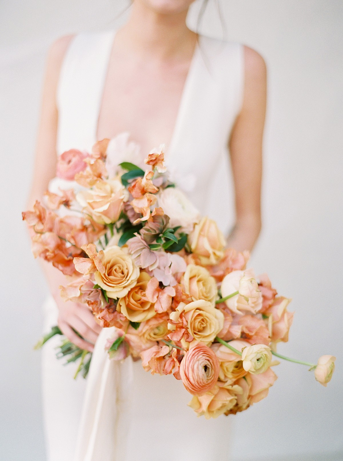 Summer Fine Art Style Wedding Bouquet