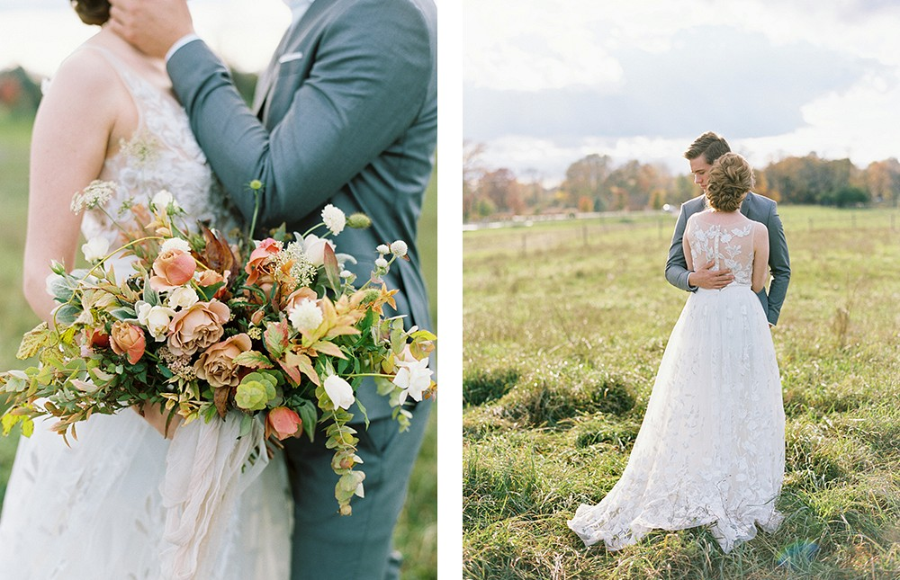 Autumnal Wedding Inspiration in Amber and Gold   Wedding Sparrow fine art wedding blog