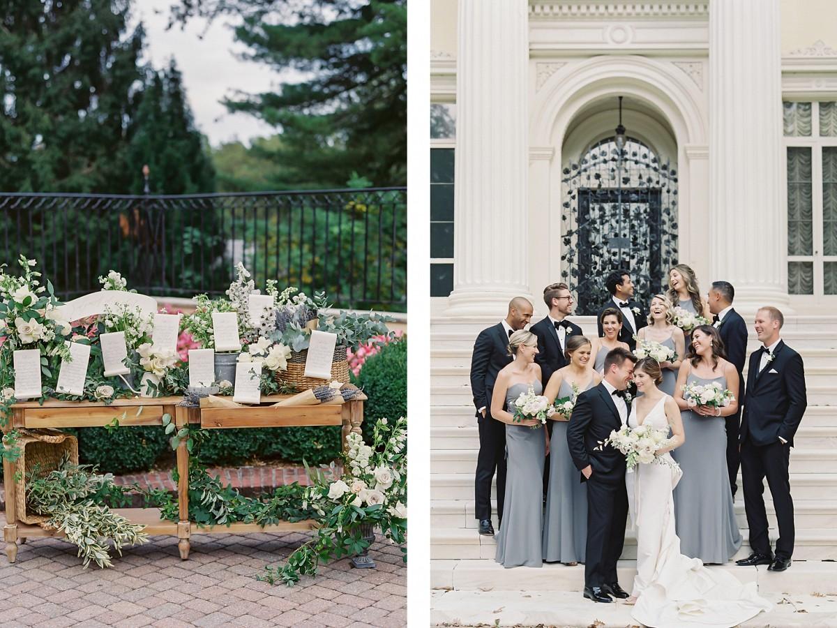 European-inspired Museum Wedding in Baltimore