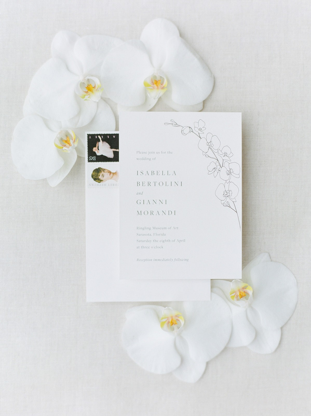 Formal yet Intimate Elopement for Two at Ringling Museum of Art
