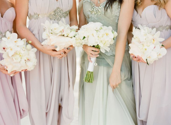 25 Best Bridesmaid Dresses for the Fine Art Bride