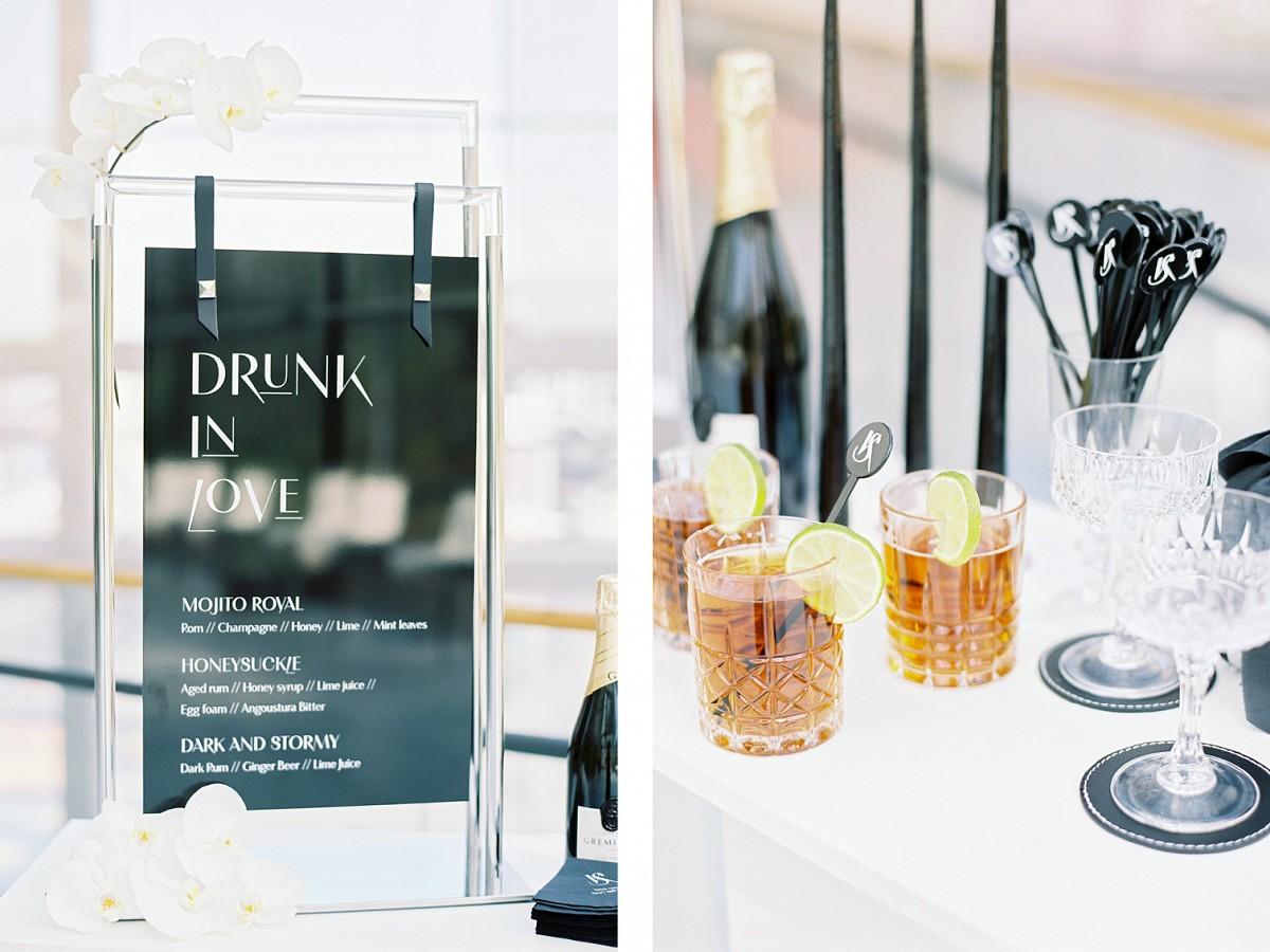 Clean Minimalist Museum Wedding Ideas