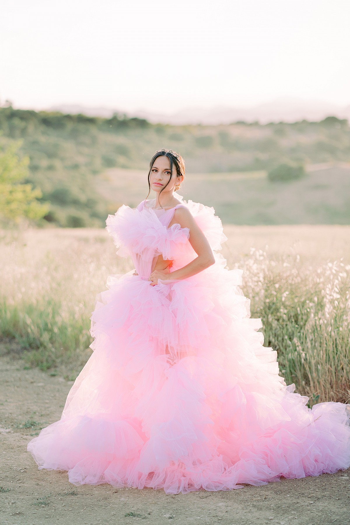 Millia London pink dress