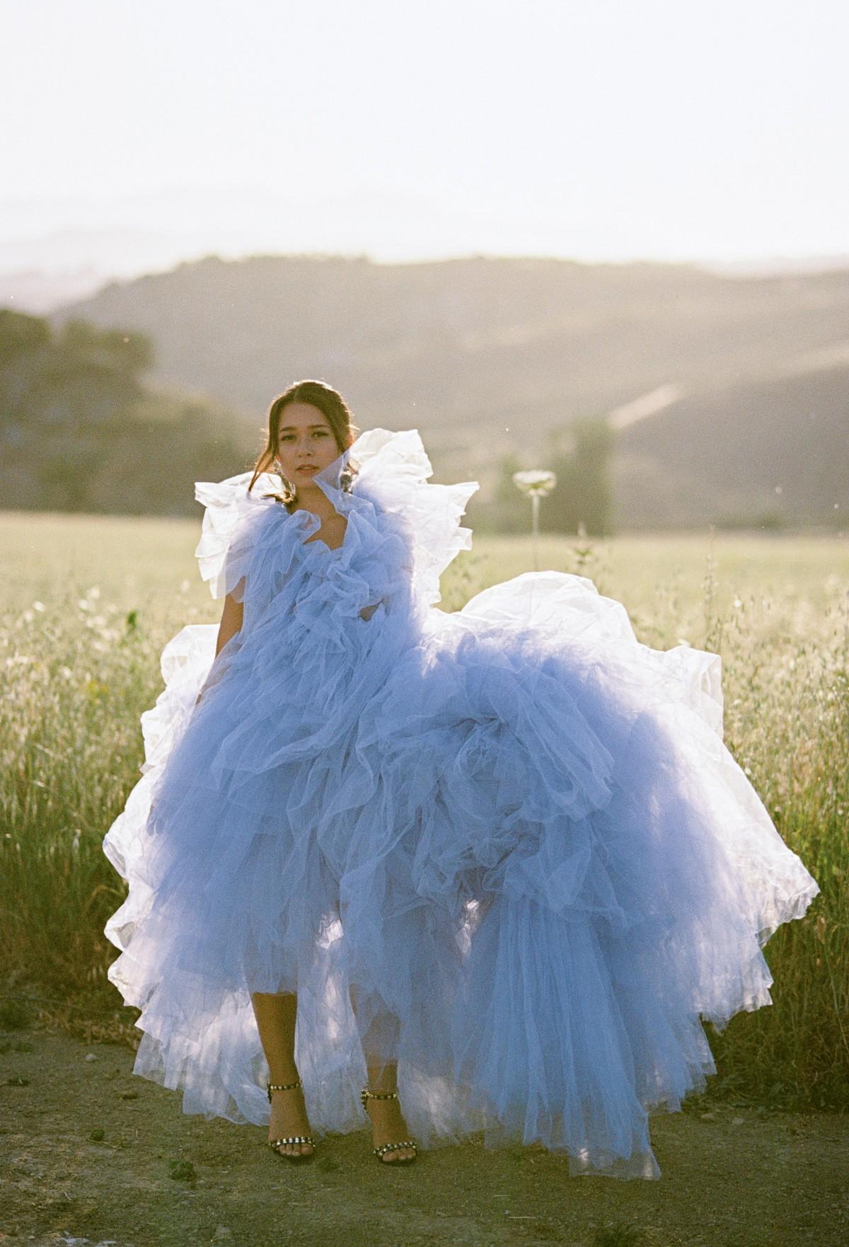 Millia London blue dress