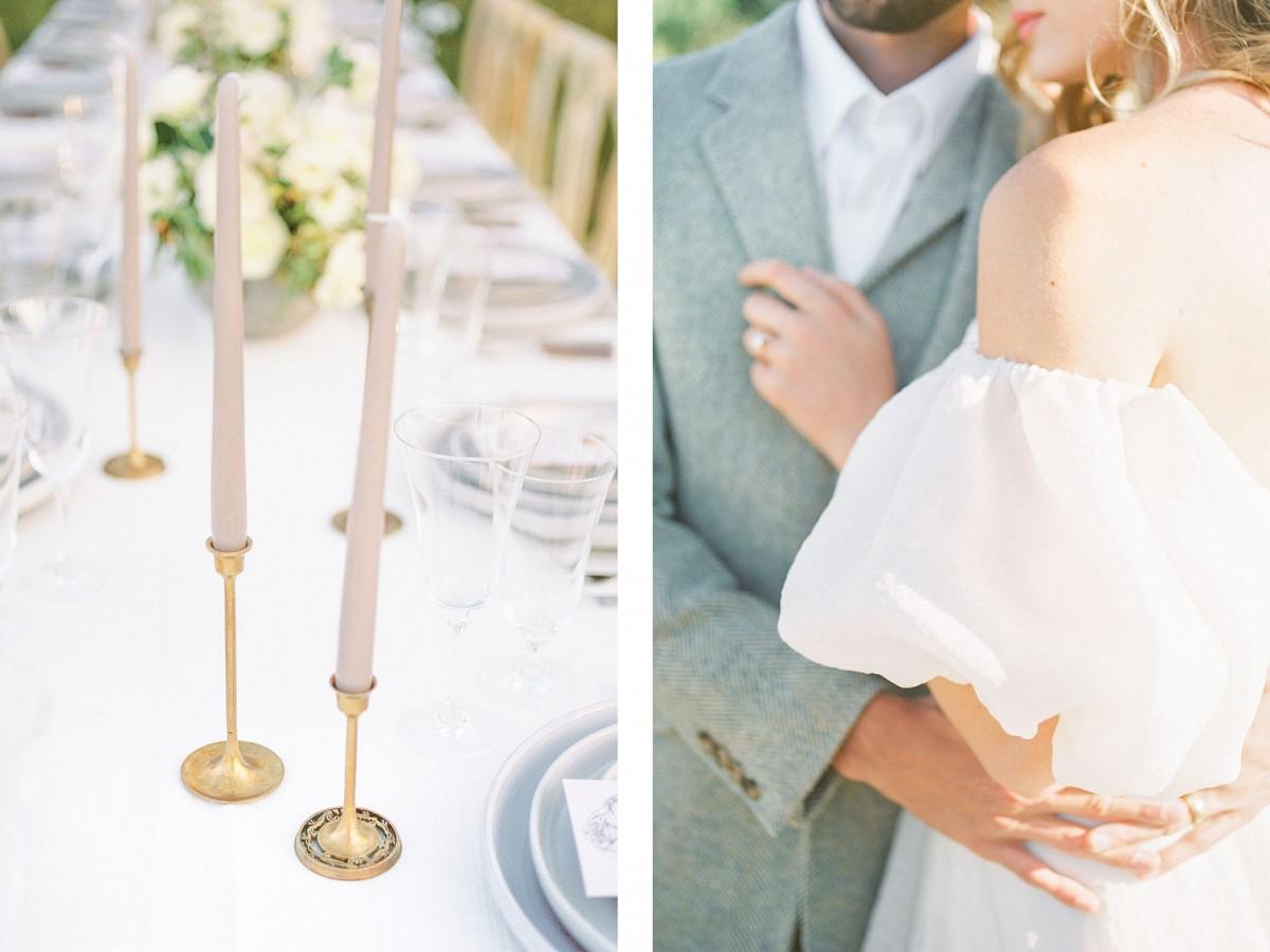 French Blue & Amber Utah Outdoor Wedding Inspiration