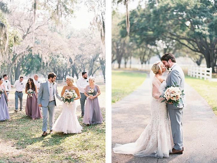 Garden Wedding full of Lilac and Blush