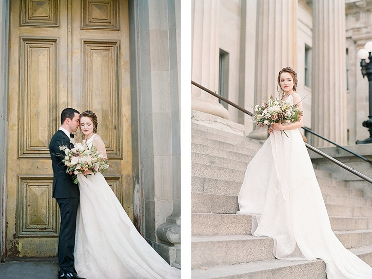 Luxe Modern San Francisco City Wedding