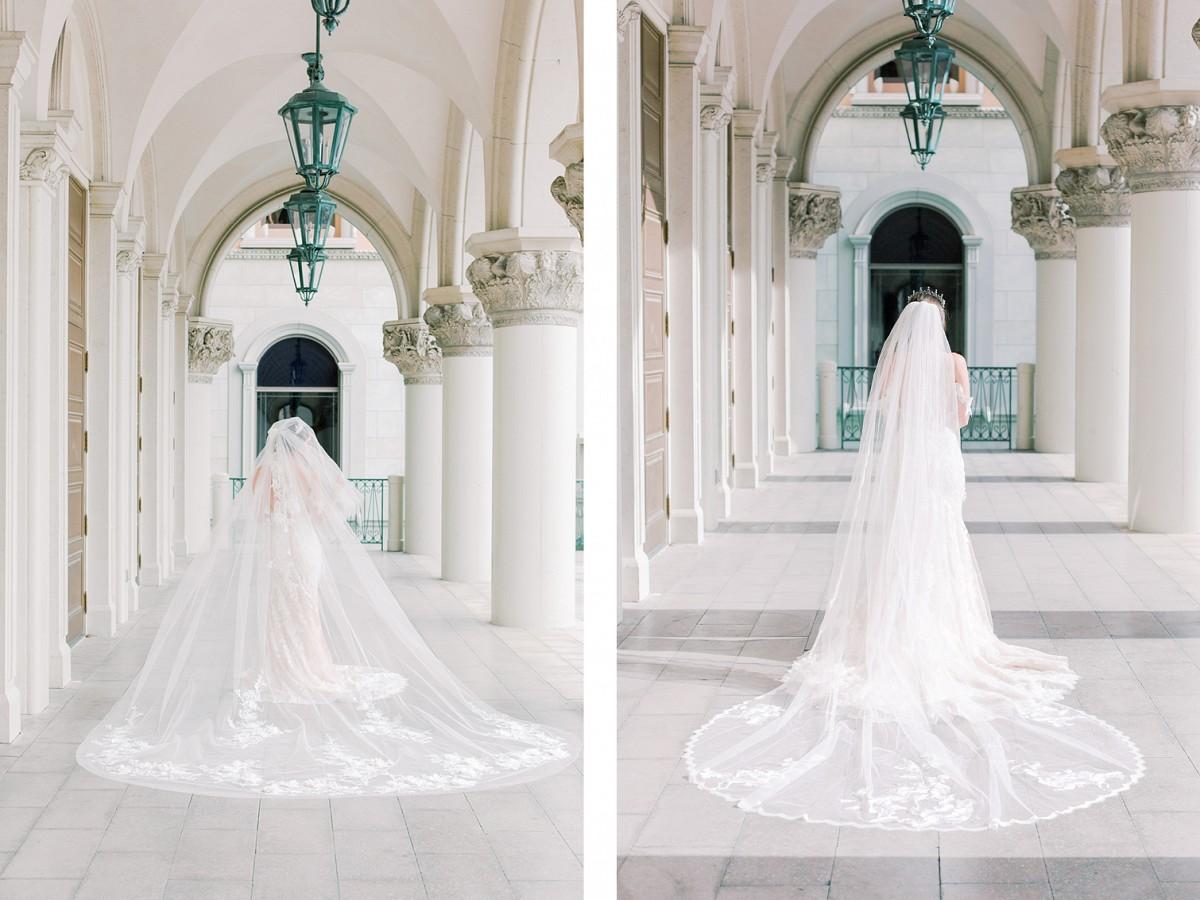 lace wedding veils - eden luxe