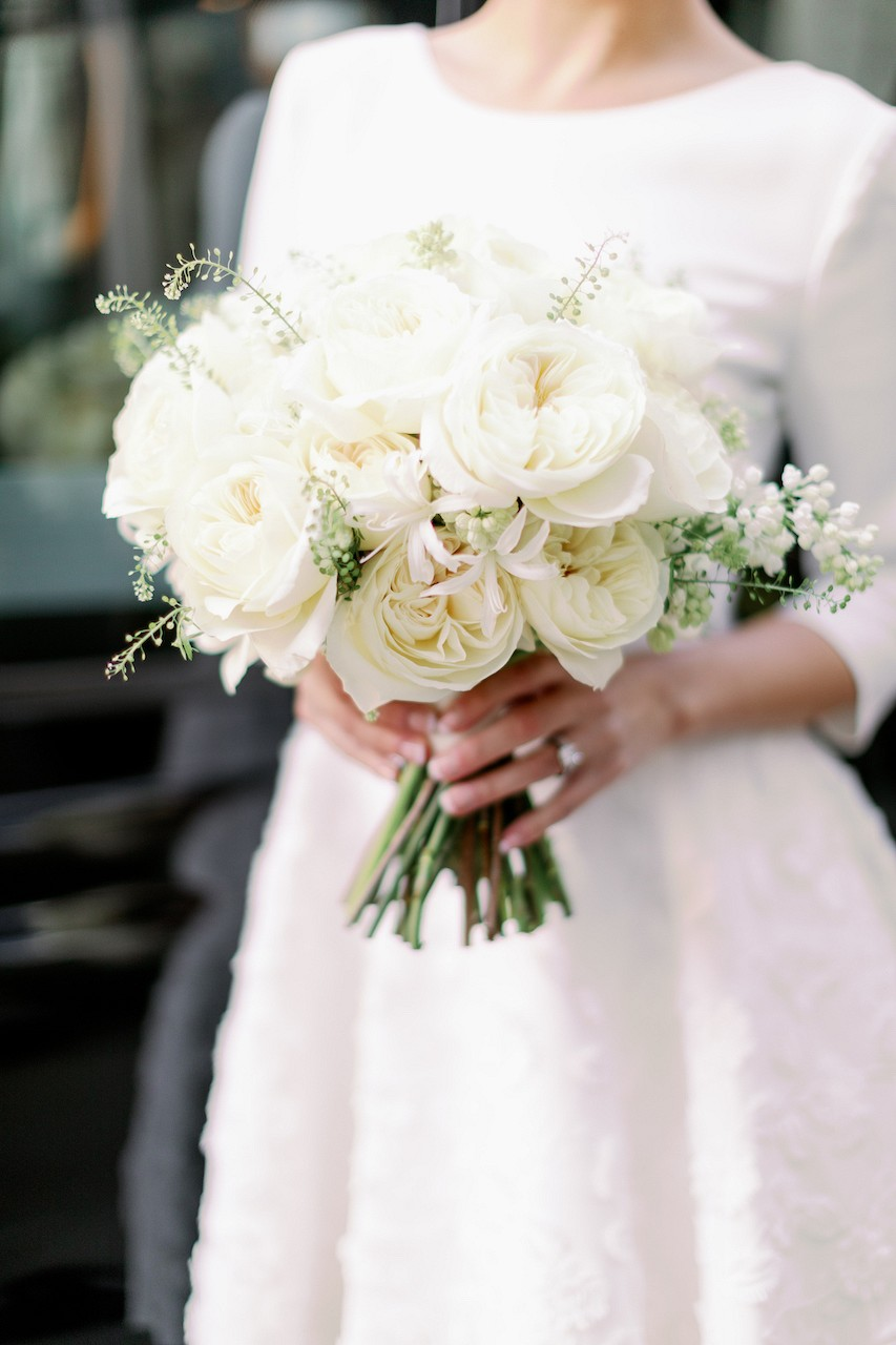 How To Make Your City Wedding Reception Iconic with David Austin Roses