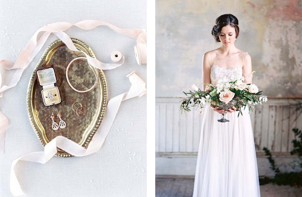 Indoor Old World Wedding Inspiration by Callie Manion Photography | Wedding Sparrow