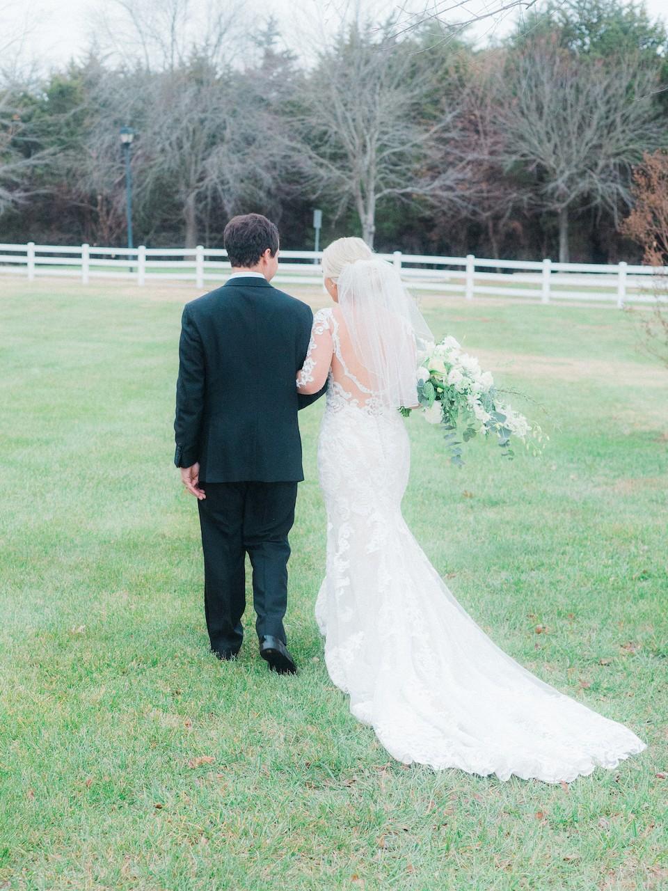 Whimsical, Winter Wonderland Wedding