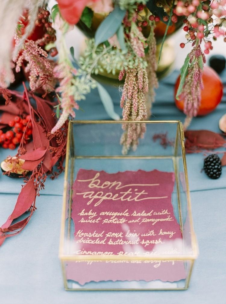 Berry and Smoke Wedding Tones