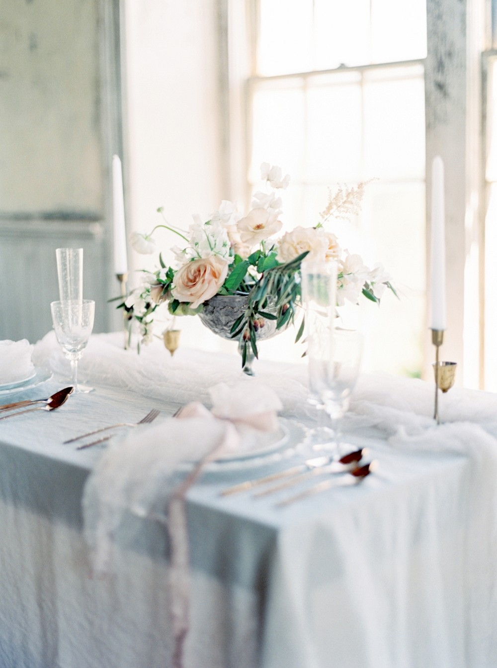 Indoor Old World Wedding Inspiration