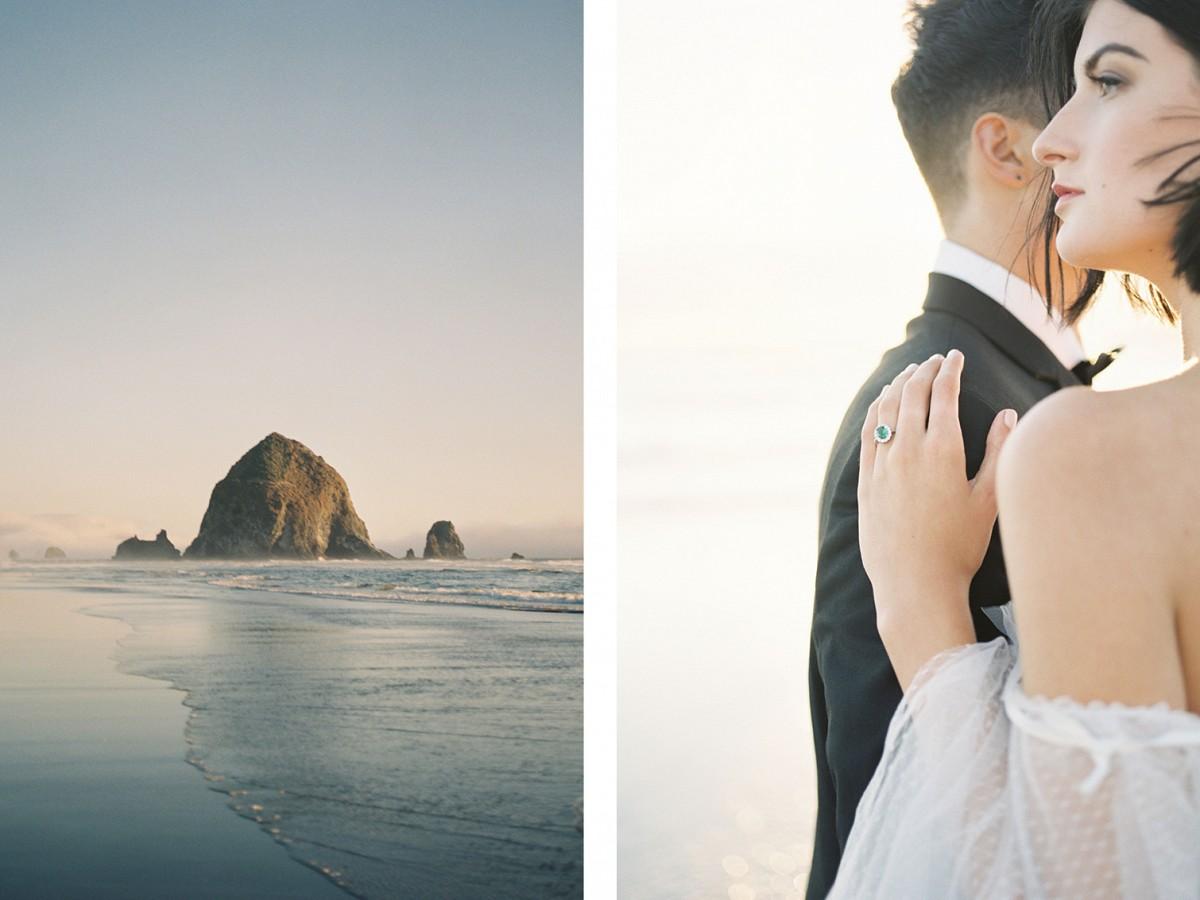 Horizons - Cannon Beach Wedding Inspiration
