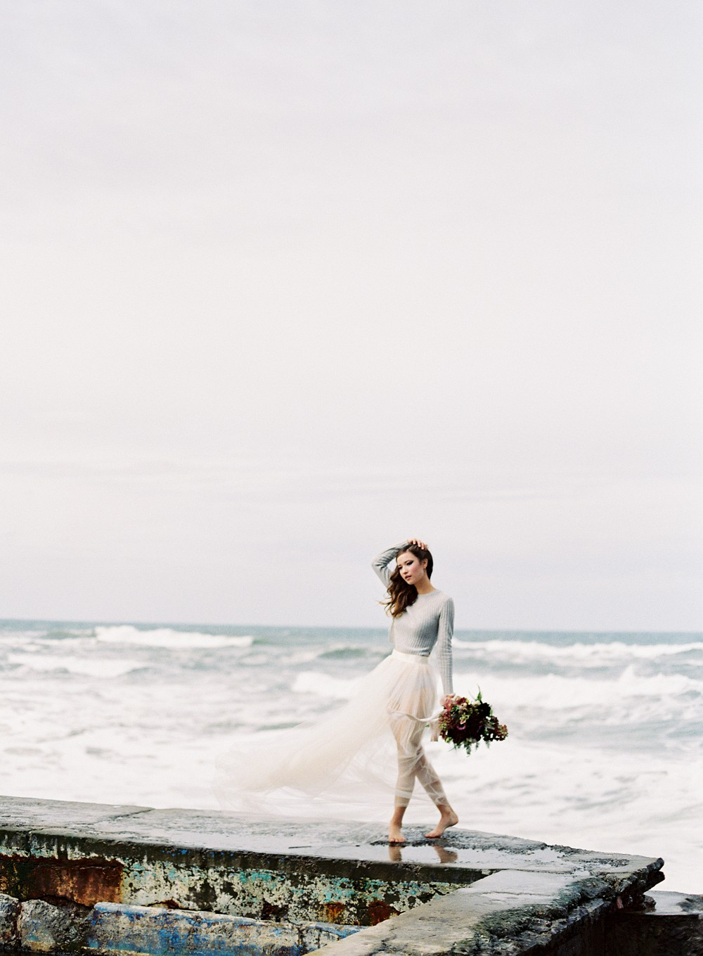 Misty Ocean Bridal Inspiration