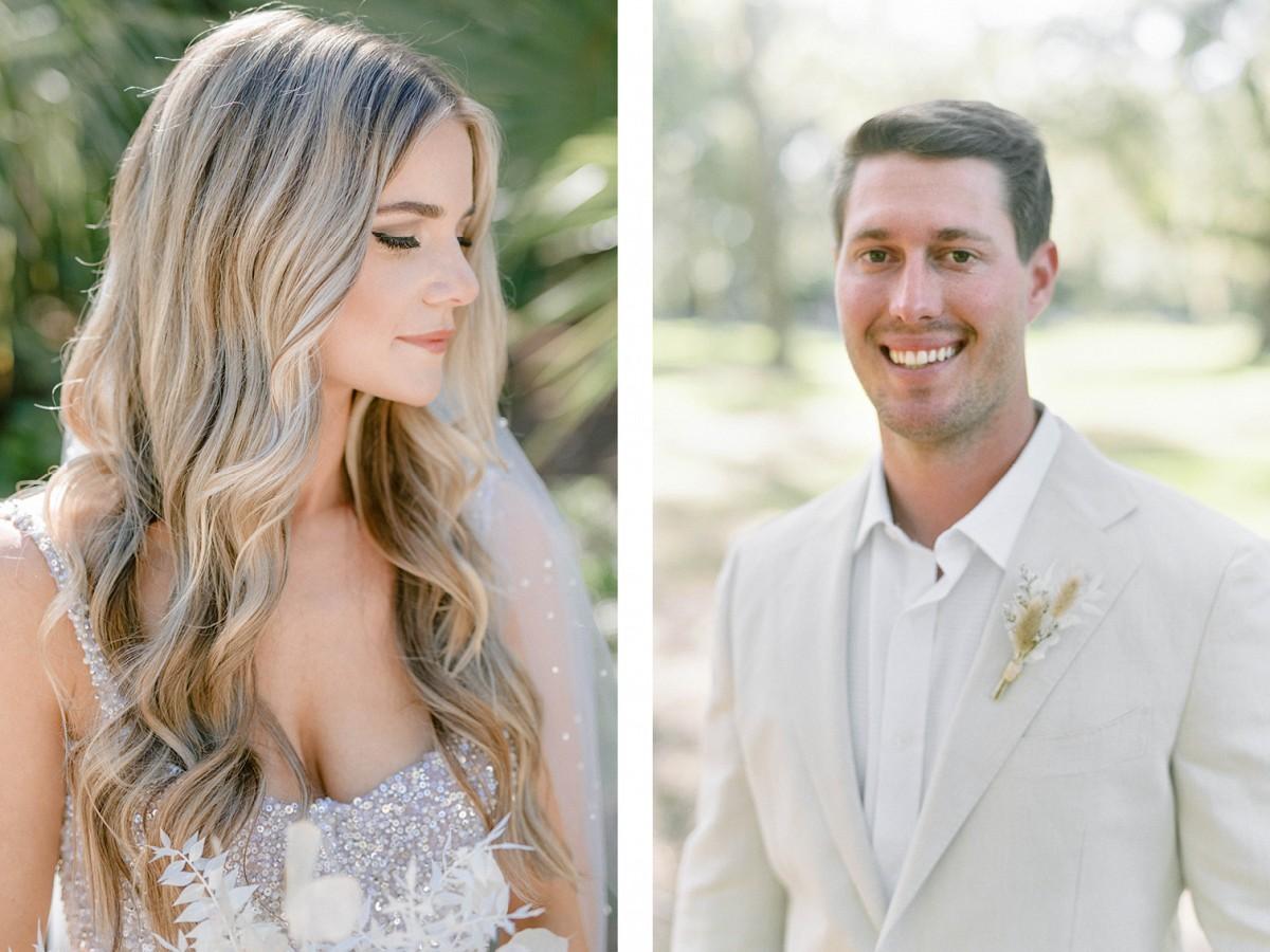 Coastal Views and an All-White Dress Code for a Micro Wedding in Hilton Head Island