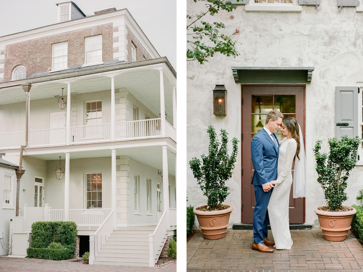 Intimate All White Wedding in Charleston