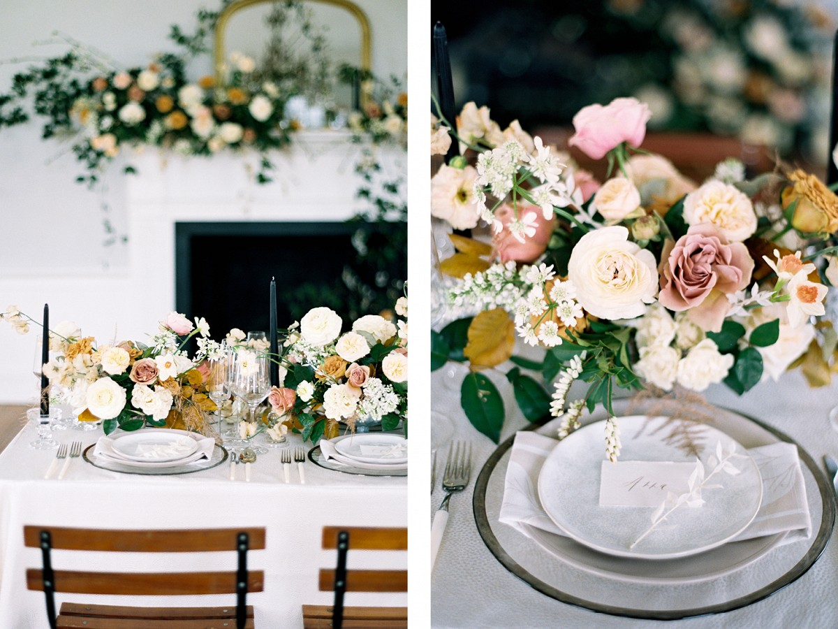 Bold Charleston Wedding Venue in a Modern Color Palette