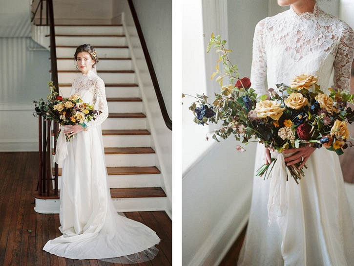 When Winter Turns to Spring - Wedding Inspiration