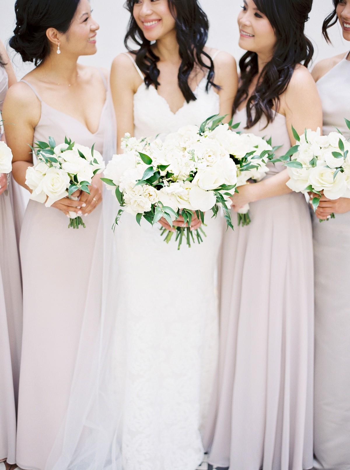 soft lilac bridesmaids dresses