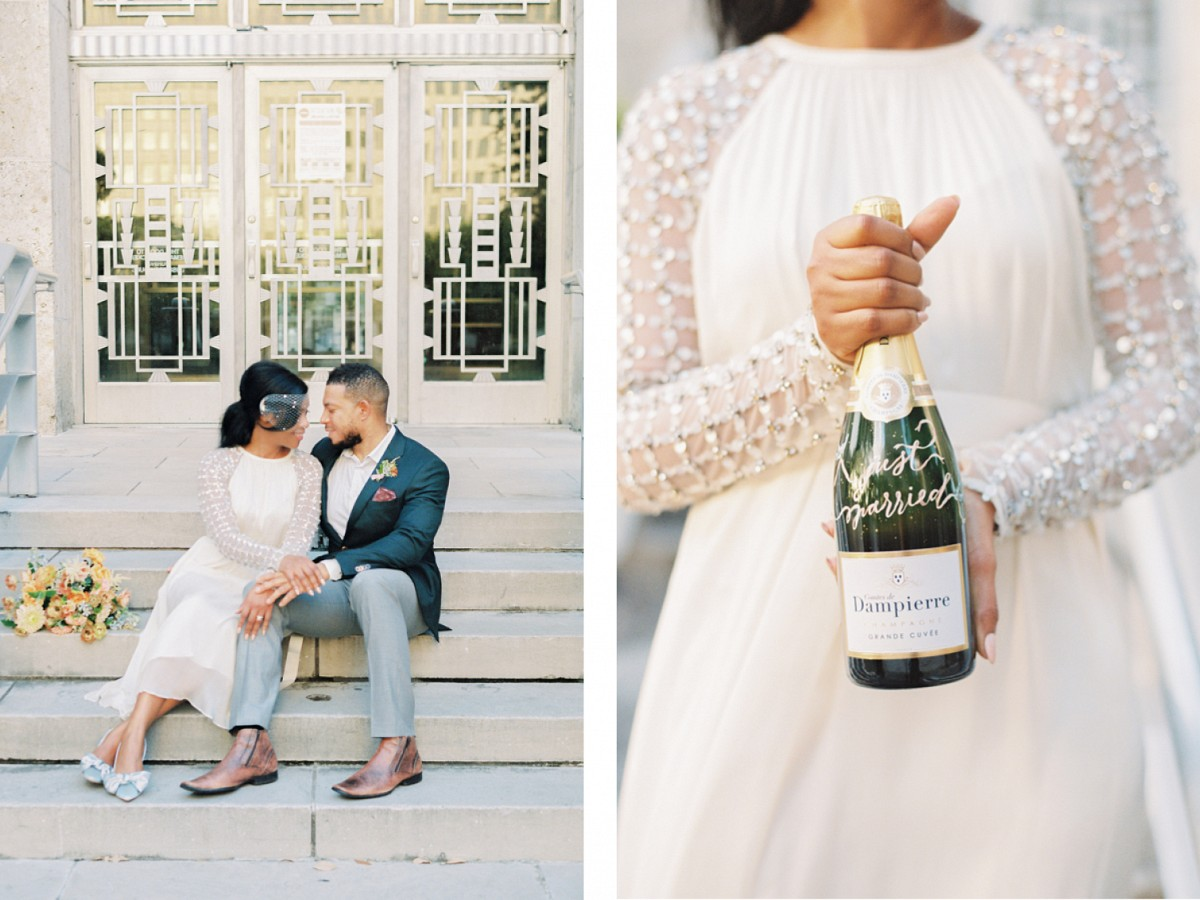 How To Make Your City Hall Micro Wedding Look Just as Amazing