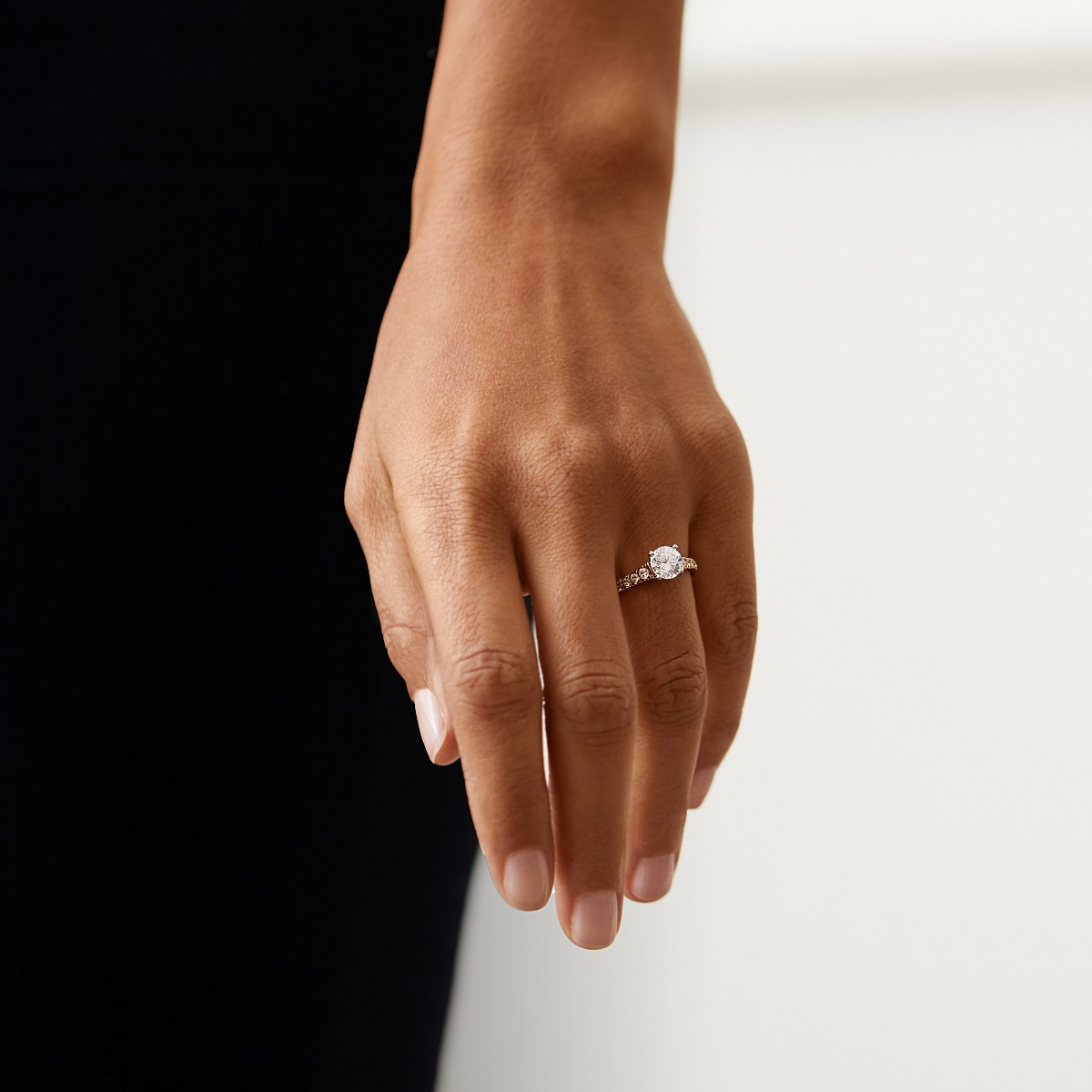 the knot engagement rings