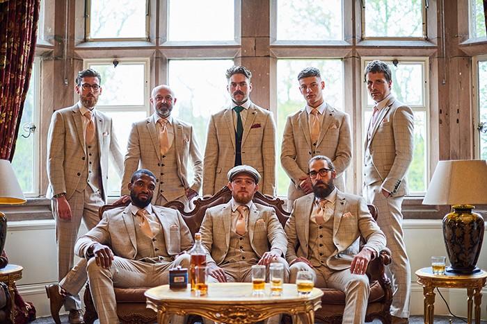 stylish groomswear