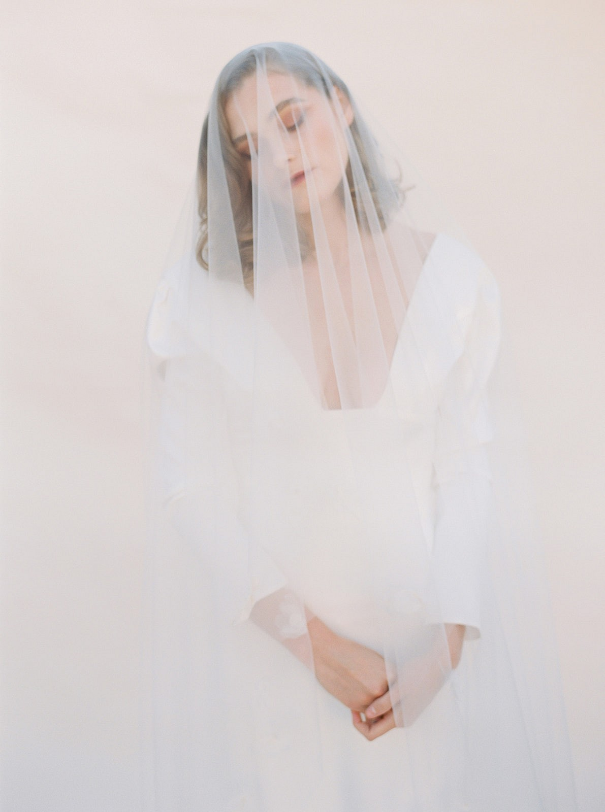 Ethereal fall editorial with seasonal blooms