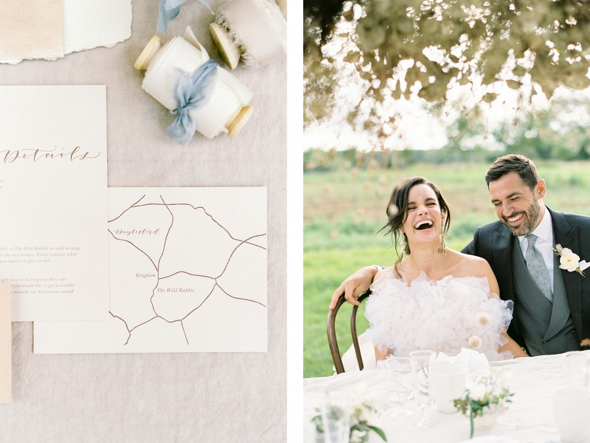 Alfresco Wedding Style with a Tipi in the English Countryside