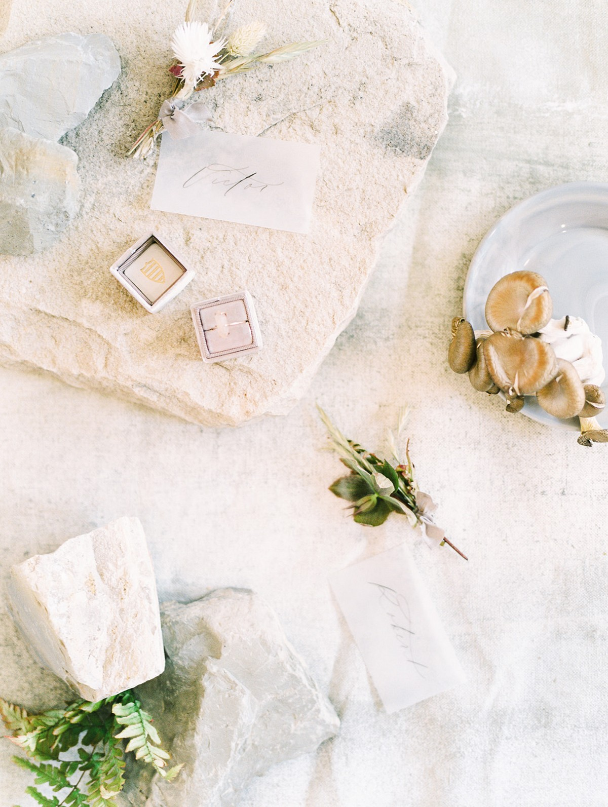 Modern, Earthy, Organic Wedding Inspiration