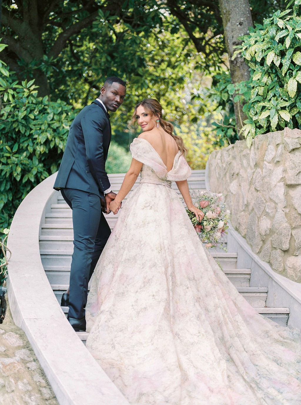 Floral Wedding dress ideas