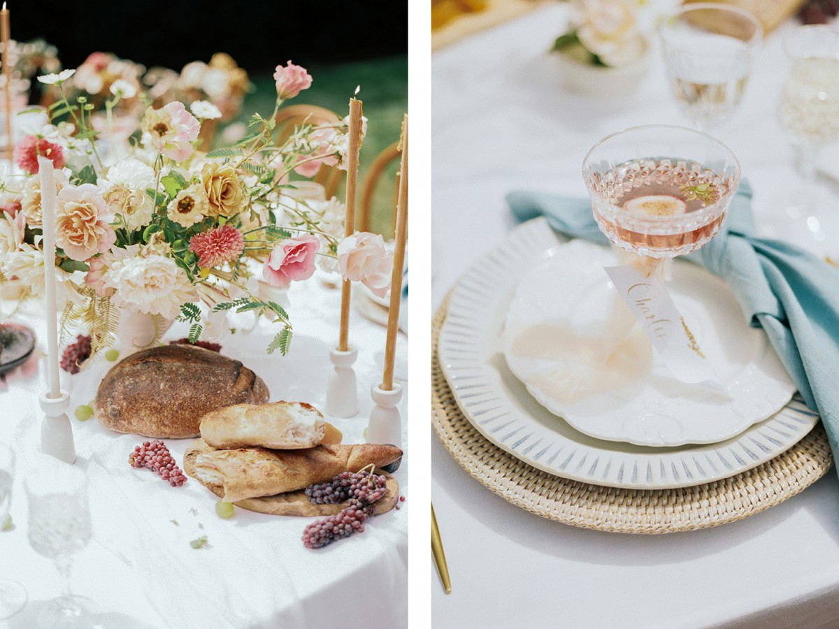 Colorful Luxe Wedding Style at Dover Estate Hall