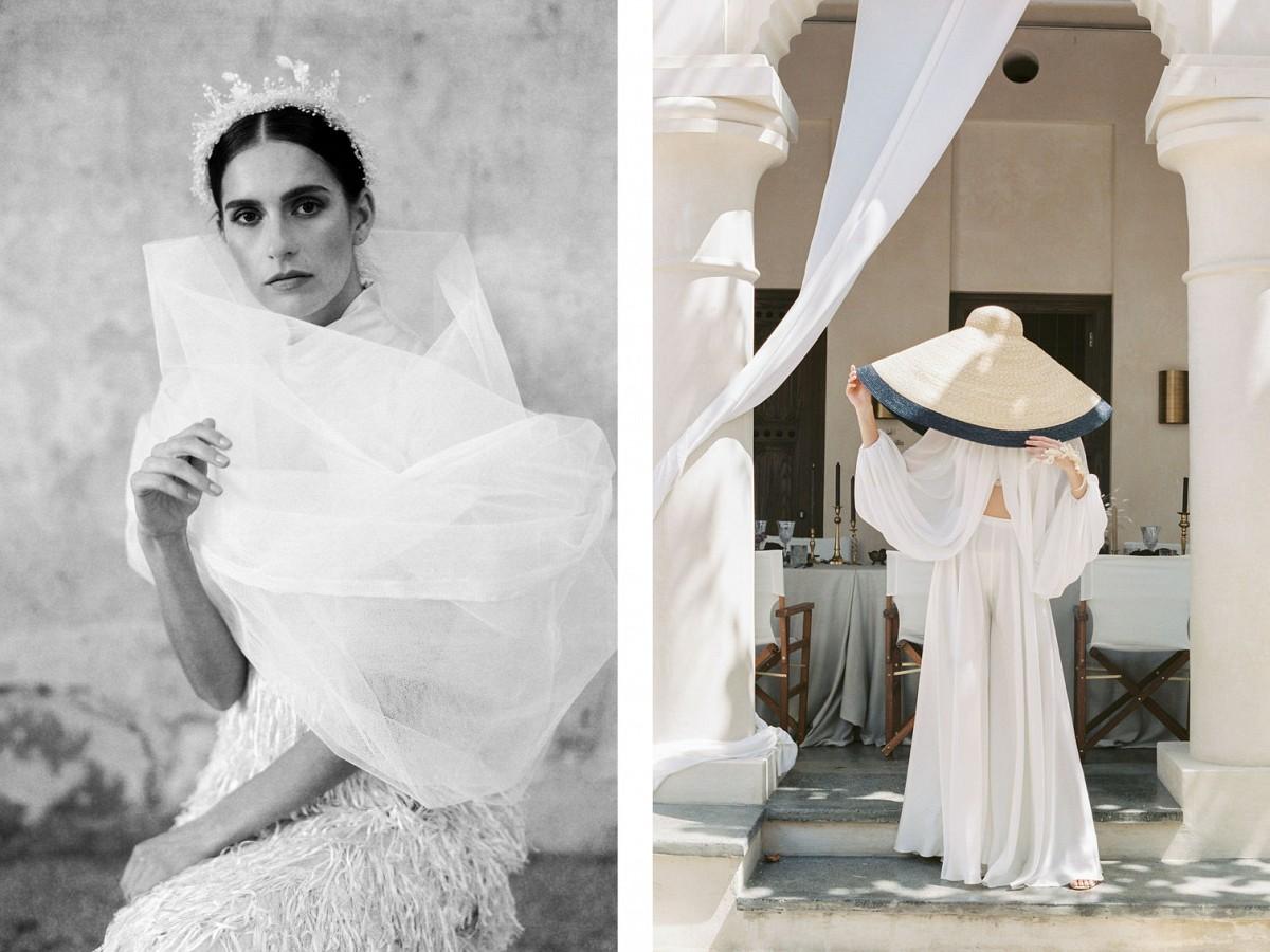 Monchromatic Modern Arabian Wedding Ideas
