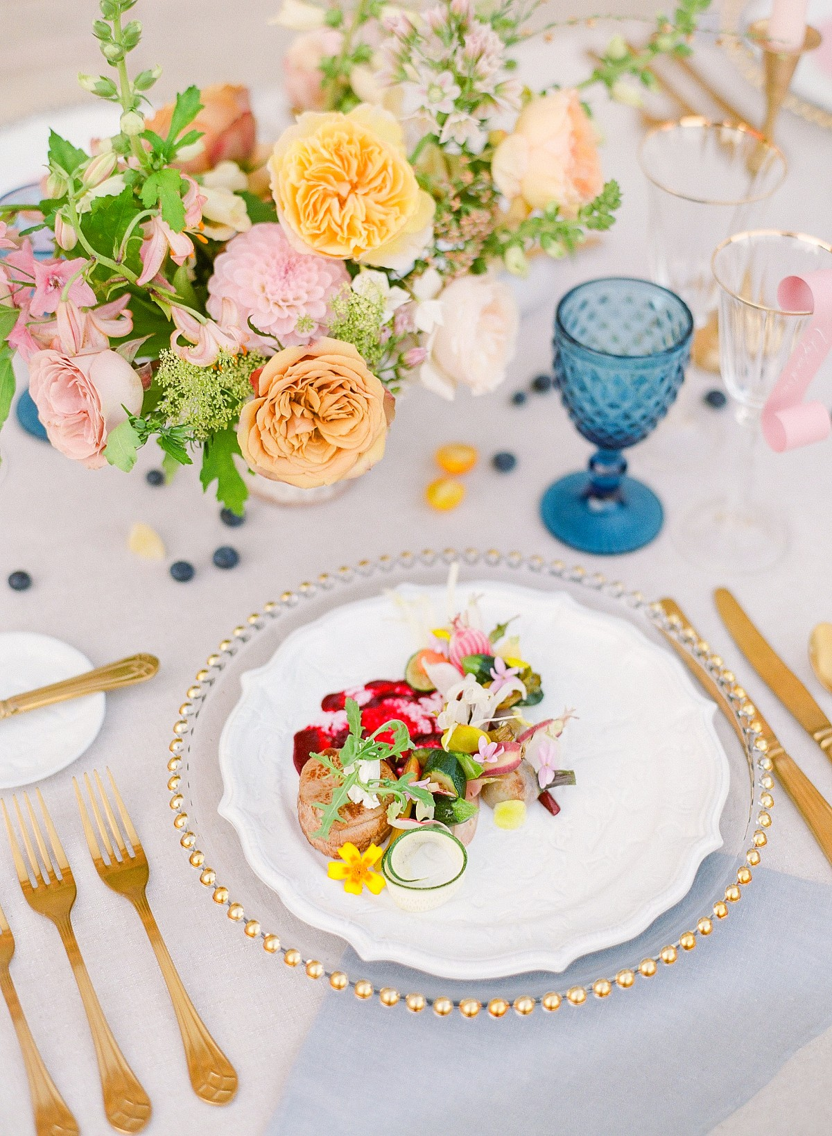 Vibrant Colorful Wedding Style in Provence