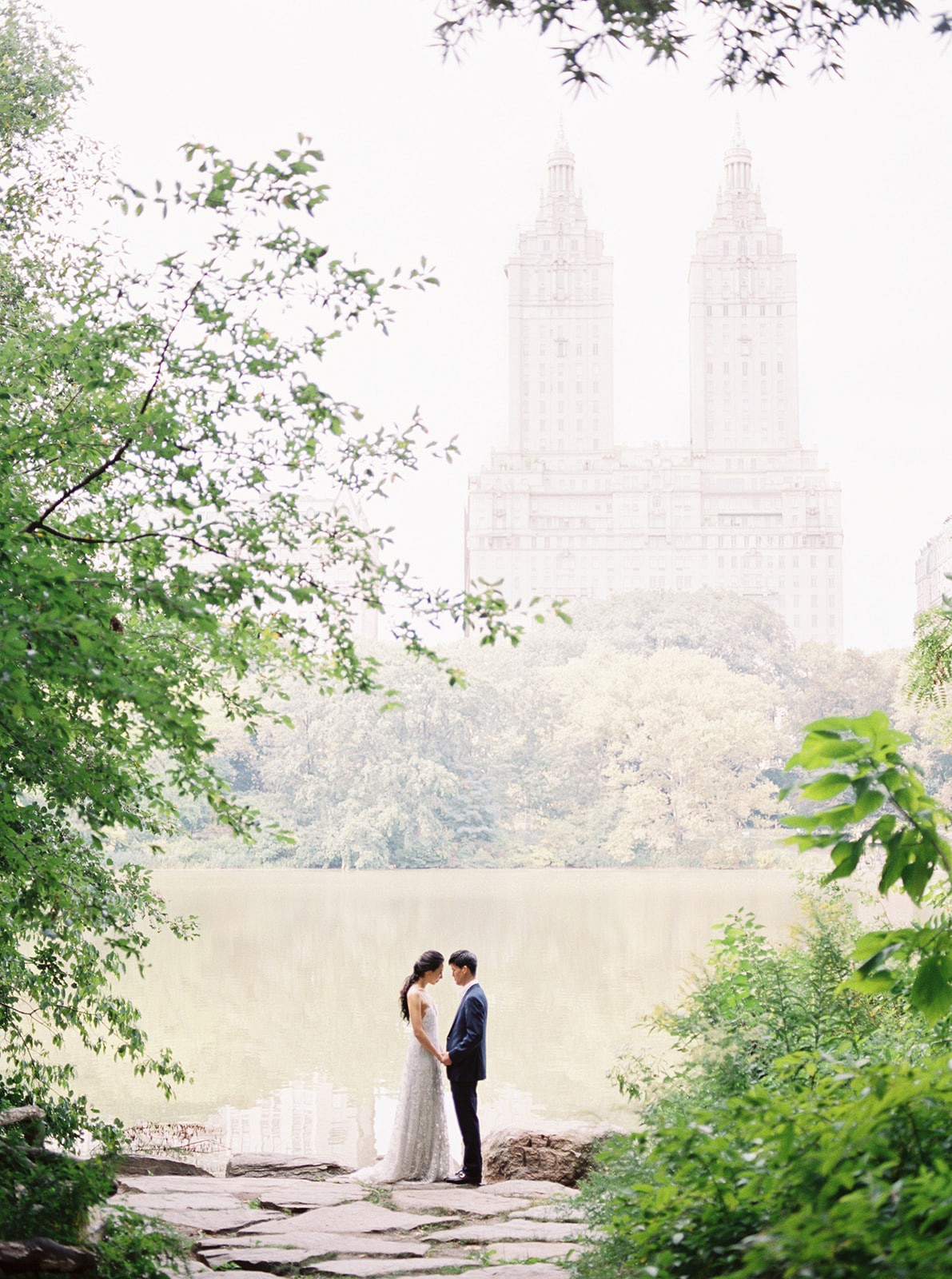 Pale Blue European Style Romance in New York City
