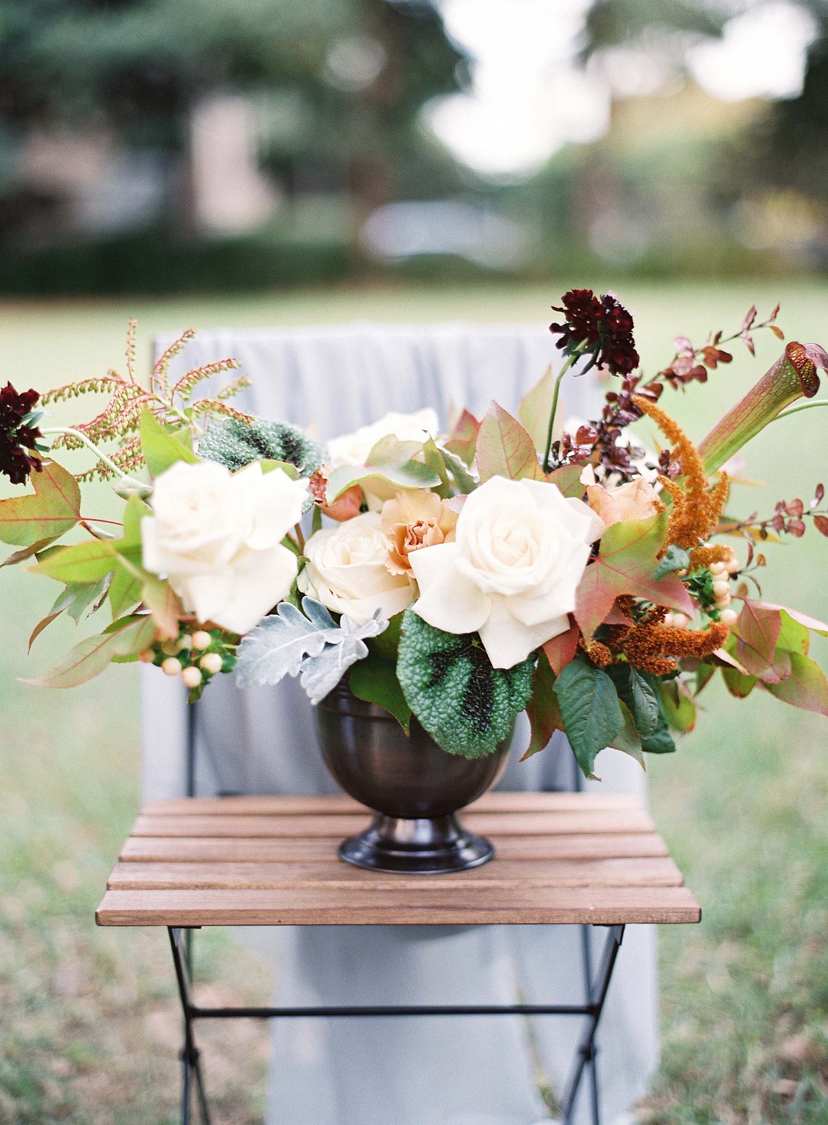 Outdoor Fall Wedding Inspiration
