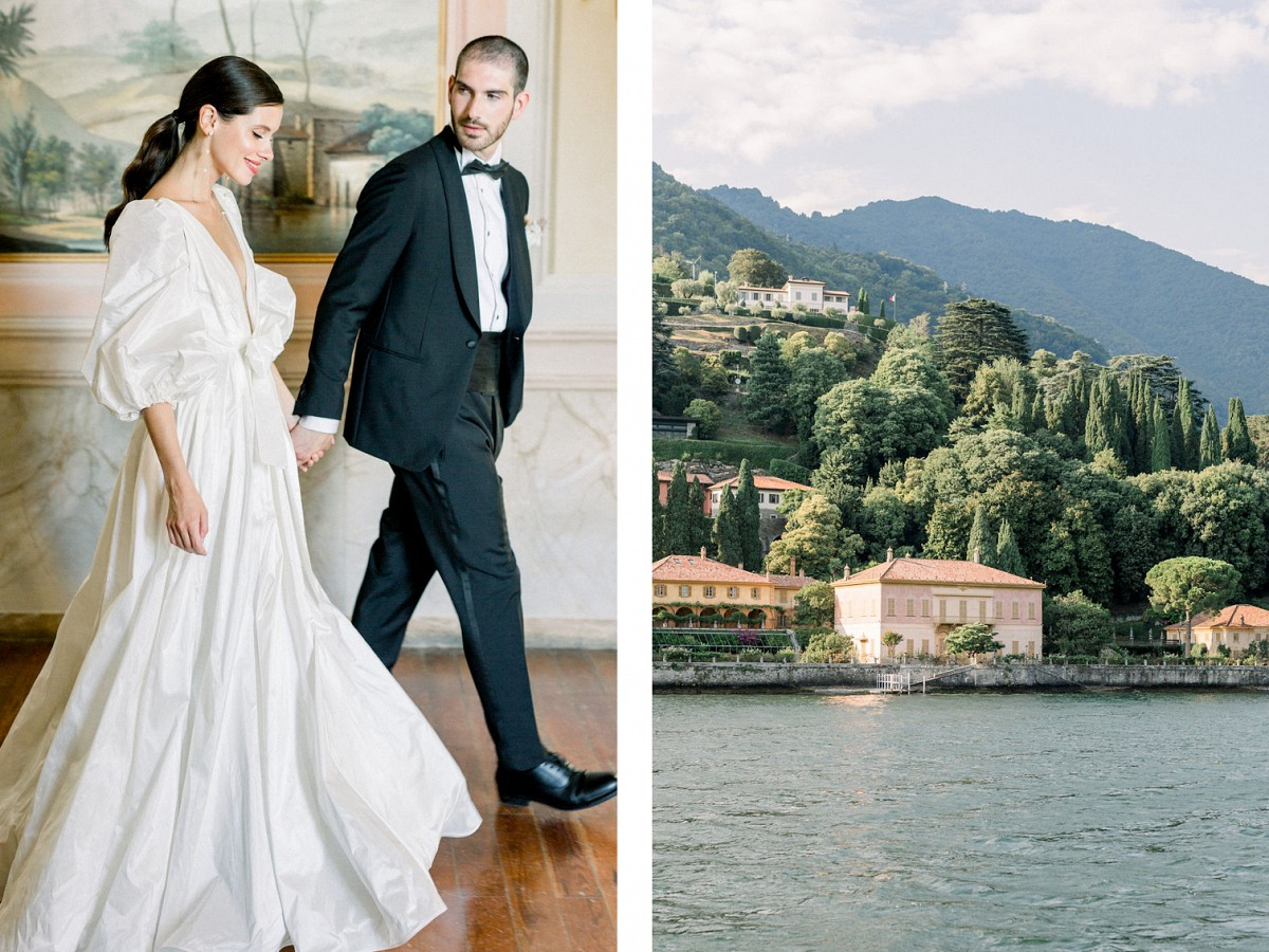 High Fashion Lake Como Autumnal Inspiration