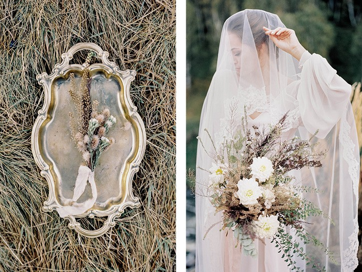 Vintage Fall Wedding Style
