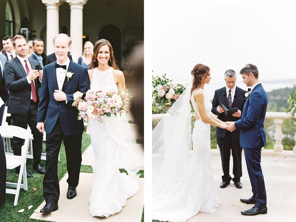 Beautiful Bride Planned this Royal Blue Wedding with No Stylist!