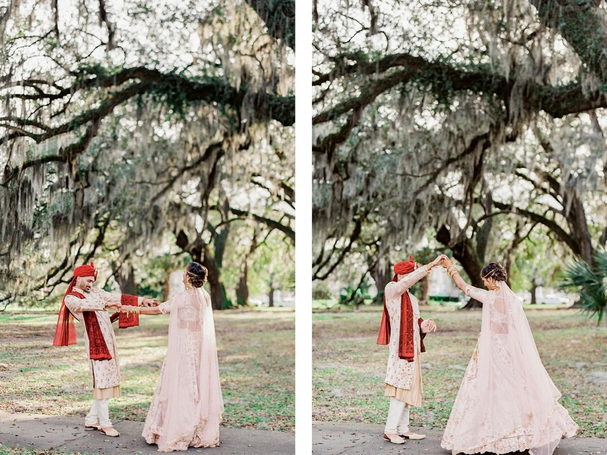 This Non-Traditional Indian Celebration Enabled This Couple To Showcase Their Original Wedding Ideas