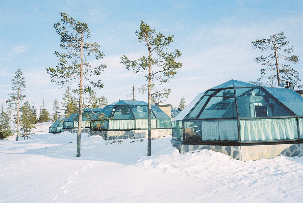 Wintry Honeymoon in Rovaniemi, Finland