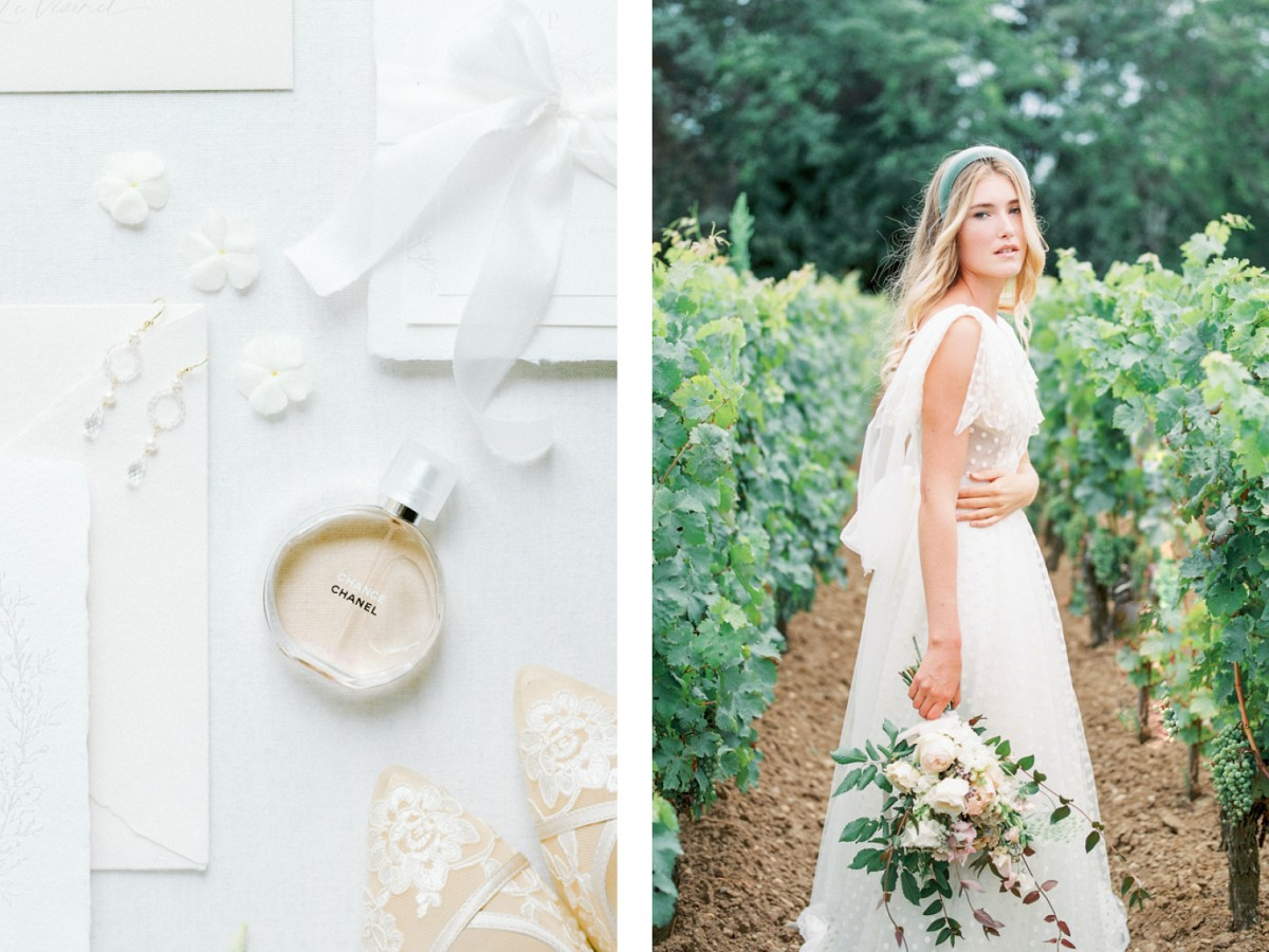 French Chateau Wedding with Luxury Ceremony Feel