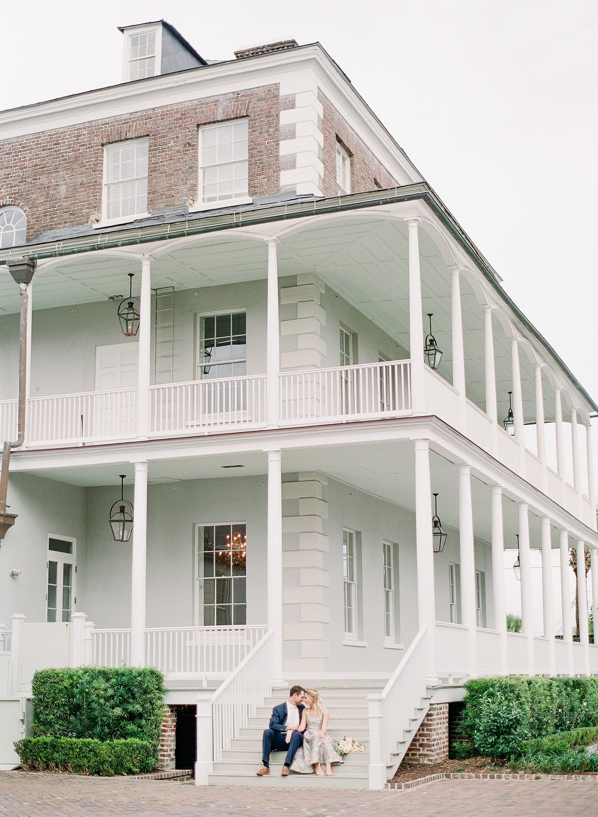 Engagement Session at the Gadsden House, Charleston