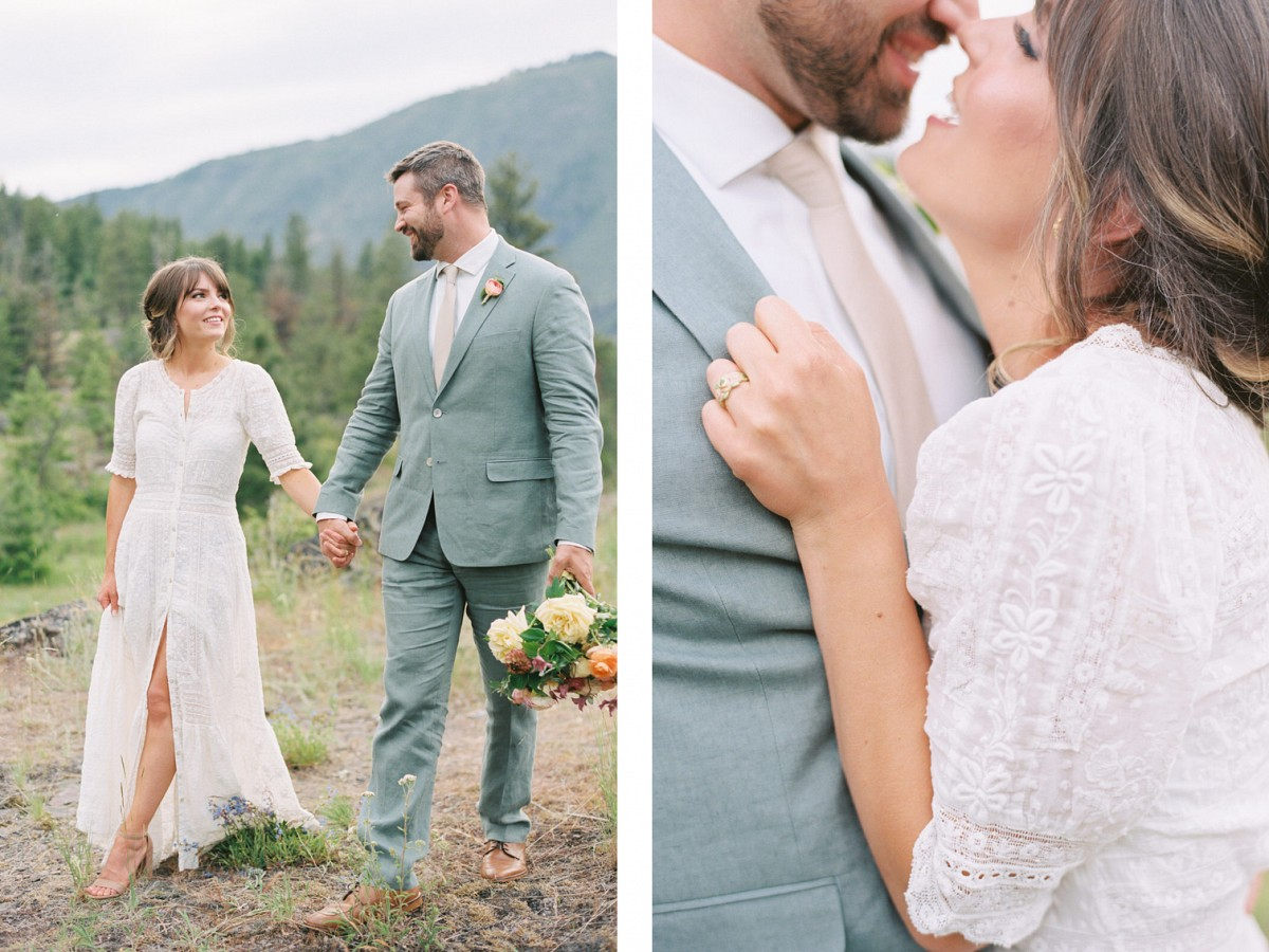 How To Pull Off a Garden Party Style Micro Wedding