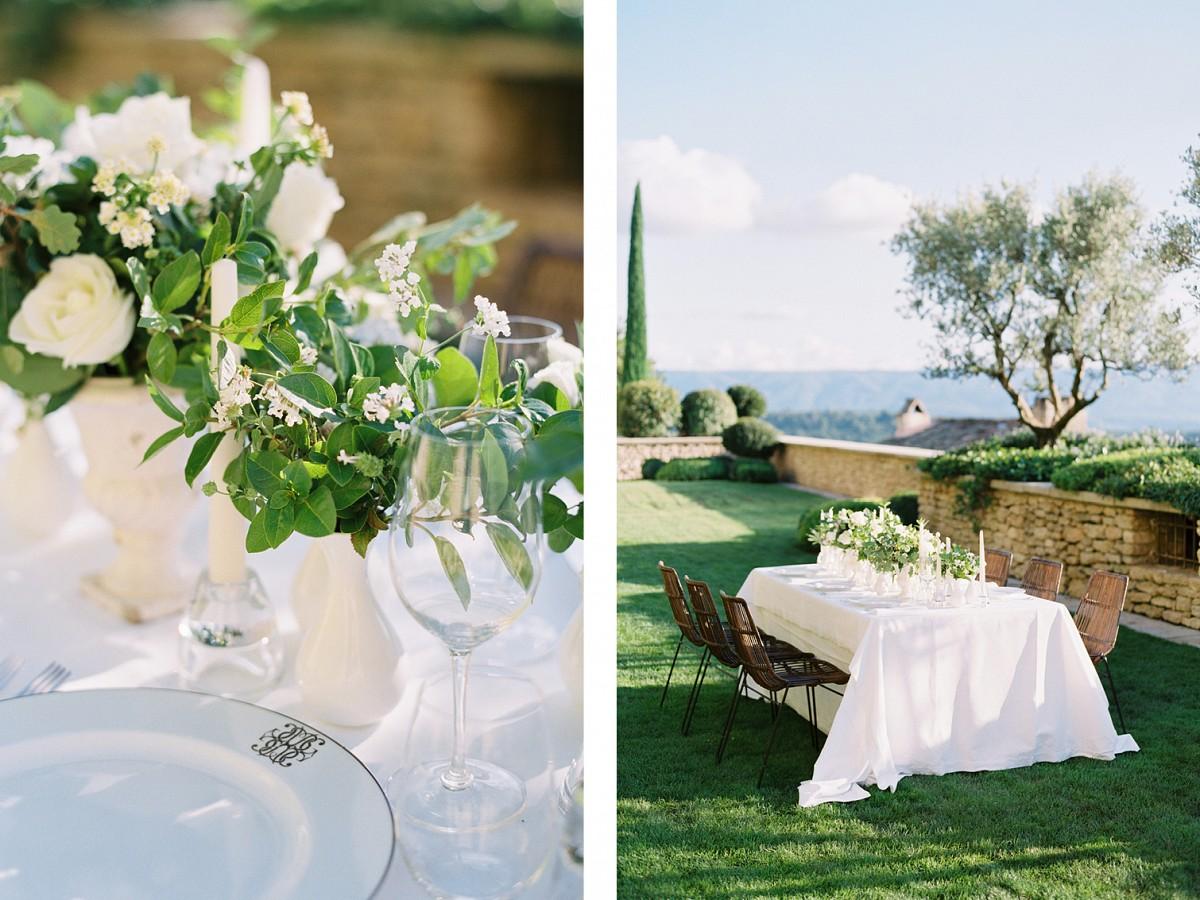 Golden Sunset in Gordes, Provence - Bridal Editorial