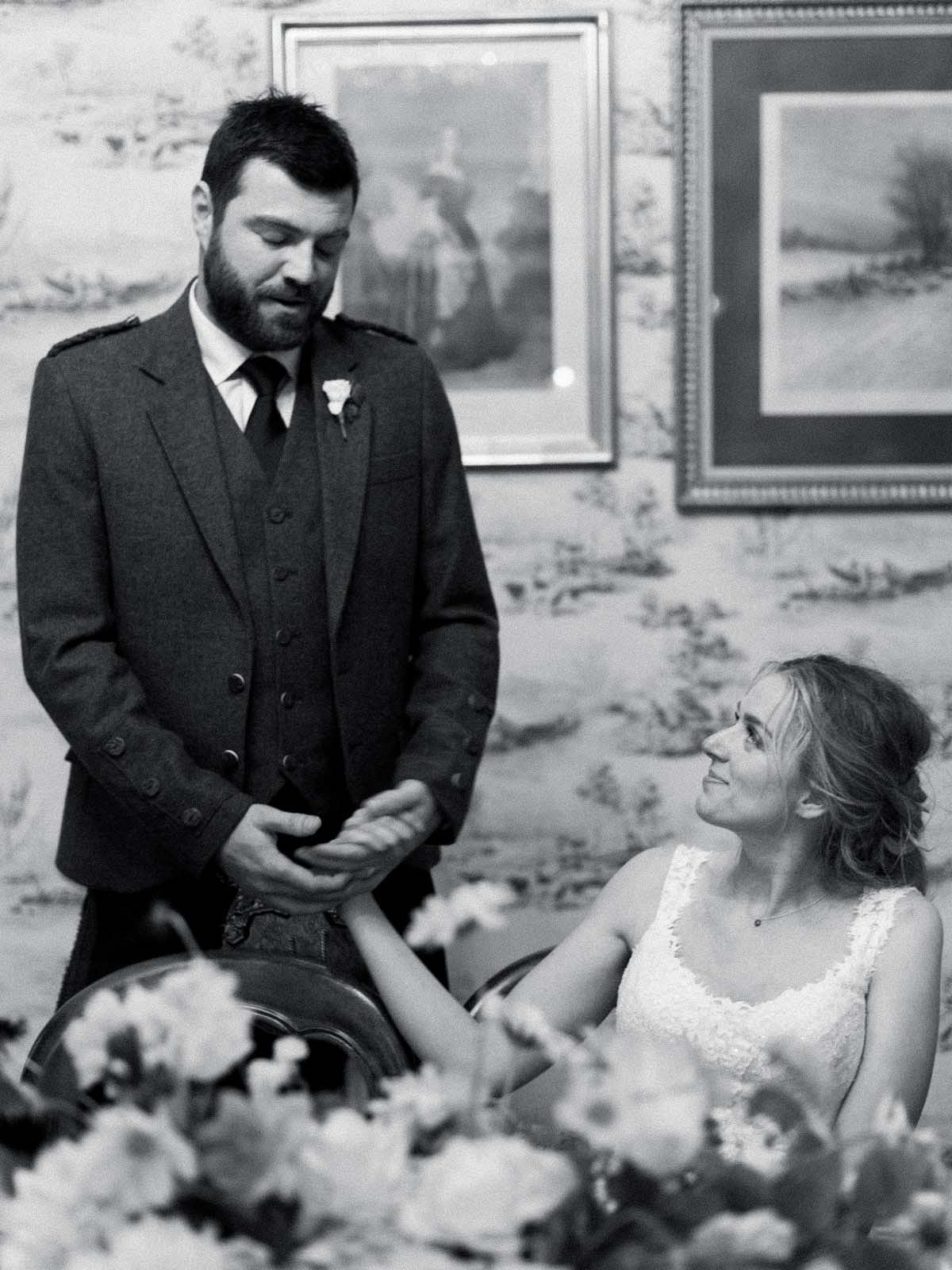 Katie and Mark's Intimate Scotland Wedding by Laura Gordon Photography   Wedding Sparrow