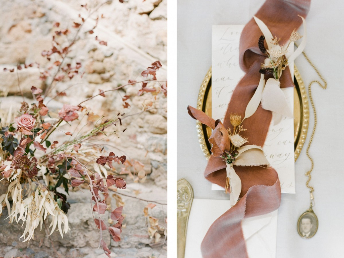 Autumnal Wedding Ideas in Greece