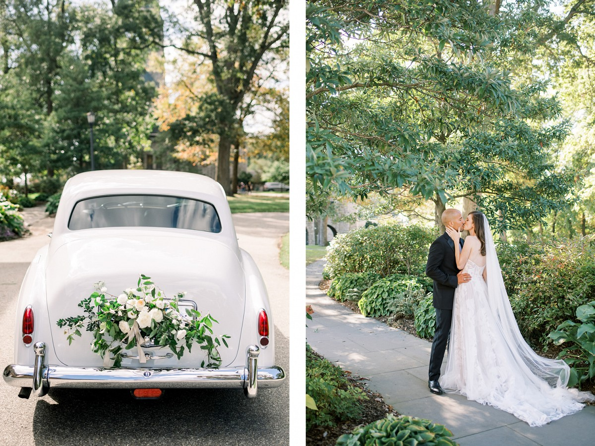 Late Summer Green & White Wedding Ideas